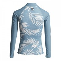 Billabong Lycra Surf Capsule LS Langarm Sea Blue