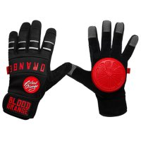 Blood Orange THE KNUCKLES Slide Gloves Black S/M