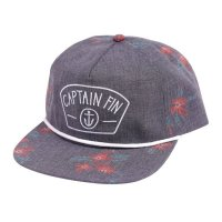 Captain Fin Flora 5 Panel Hat