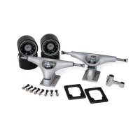 Carver Truck Kit CX FRONT C2 Back 6.5 Raw inkl. Rollen,...