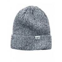 Cleptomanicx Hafen Beanie BiColour Heather Grey