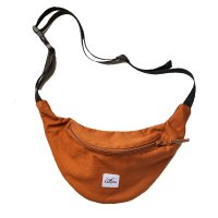 Cleptomanicx Hipbag C.I.Patch Bone Brown