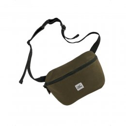 Cleptomanicx Hipbag Daycare Heather Dark Olive