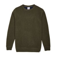 Cleptomanicx Pullover Crewneck Noitch Rifle Green