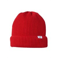 Cleptomanicx Storm Beanie Fiery Red