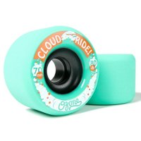 Cloud Wheels OZONE (4er Set) 70mm/ 80a Teal