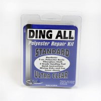 Ding All Polyester Repair Kit Standard Ultra Clear