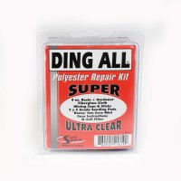 Ding All Polyester Repair Kit Super Ultra Clear