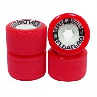 Earthwing Floaters (4er Set) 70mm/78a Rot