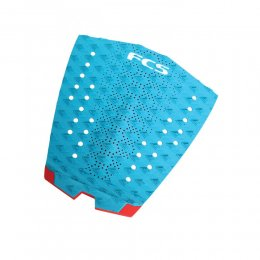 FCS Tail Pad T-1 Surf Traction Teal Fire