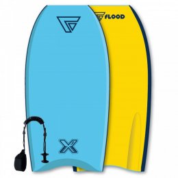 FLOOD Bodyboard Dynamx Stringer 40 Blue Yellow