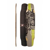 Fibretec Skateboards DANCER Medium Longboard Deck