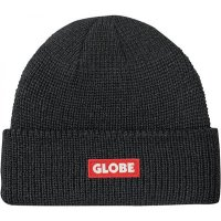 Globe Bar Beanie Black