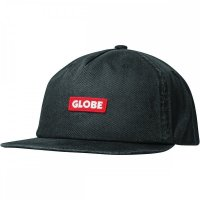 Globe Bar Cap Black