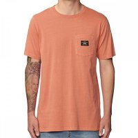 Globe Base Pocket Tee Washed Sunburned