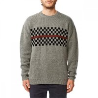 Globe Duster Sweater Grey Nep