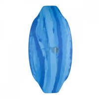 HW-Shapes Freestyleskim Epoxyart  Blue  Skimboard READY...