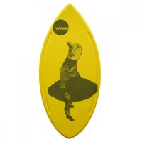 HW-Shapes Hybridskim Minimal Möwe Skimboard Yellow