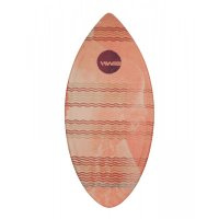 HW-Shapes Hybridskim WAVES Skimboard READY TO GO Red