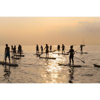 HW-Shapes Stand Up Paddling Tour (2h) SUP Schule Rostock