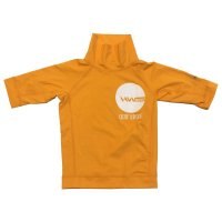 HW-Shapes Turtleneck Kids Rashguard Orange