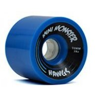 Hawgs MINI MONSTER Solid Blue 70mm 78a (4er Set)