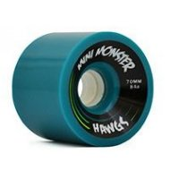 Hawgs MINI MONSTER Turquoise 70mm 84a (4er Set)