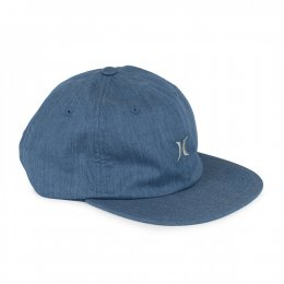 Hurley SOMERSET Cap Blue Jeans