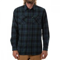 Katin Fred Flannel Hemd Baltic Blue