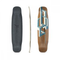 Loaded Basalt Tesseract Longboard Deck Dark Blue
