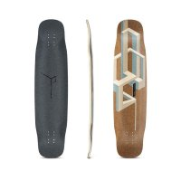 Loaded Basalt Tesseract Longboard Deck Nude