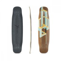 Loaded Basalt Tesseract Longboard Deck Mango
