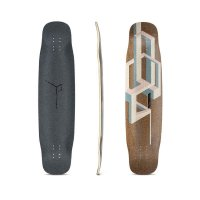 Loaded Basalt Tesseract Longboard Deck Pink