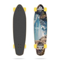 Long Island Breath Kicktail Longboard Komplettboard