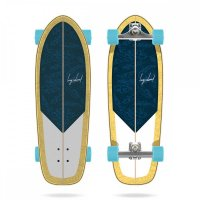 Long Island Papaya Surfskate Komplettboard
