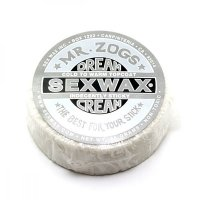 Mr. Zogs Original SEX WAX Surf Wax Dream Creme Silver...