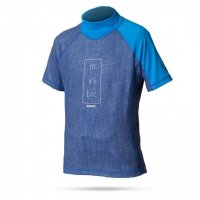 Mystic STAR Rash Vest UV-Shirt Kinder Kurzarm Blue