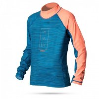 Mystic STAR Rash Vest UV-Shirt Kinder Langarm Coral