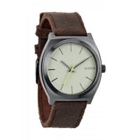 NIXON TIME TELLER Armbanduhr Gunmetal Brown