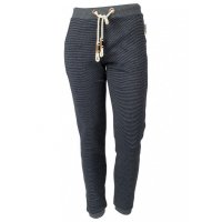(NOORLYS) Jogger Pant Lazy Navy Stripe
