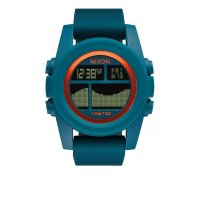 Nixon UNIT TIDE Armbanduhr Teal Orange