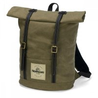 Northcore Waxed Canvas Back Pack Khaki
