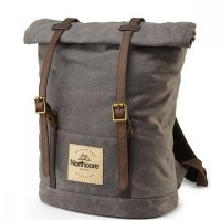 Northcore Waxed Canvas Back Pack Stone