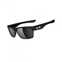 Oakley TWO FACE Sonnenbrille Polished Black/Black Iridium