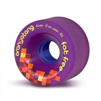 Orangatang FAT FREE (4er Set) 65mm/84a Purple