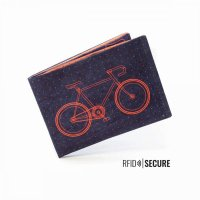 Paprcuts RFID Secure Portemonnaie Bike