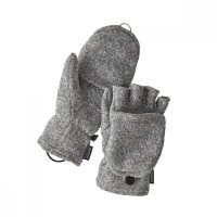 Patagonia Better Sweater Gloves Birch White