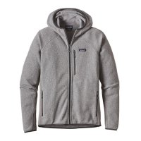 Patagonia Jacke Performance Better Sweater Hood Feather Grey