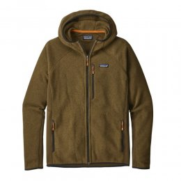 Patagonia Jacke Performance Better Sweater Hood Sediment
