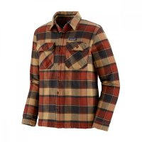 Patagonia M´s Insulated Fjord Flannel Jacket Burnished Red